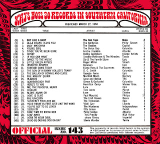 KHJ Boss 30 No. 143 - March 27, 1968