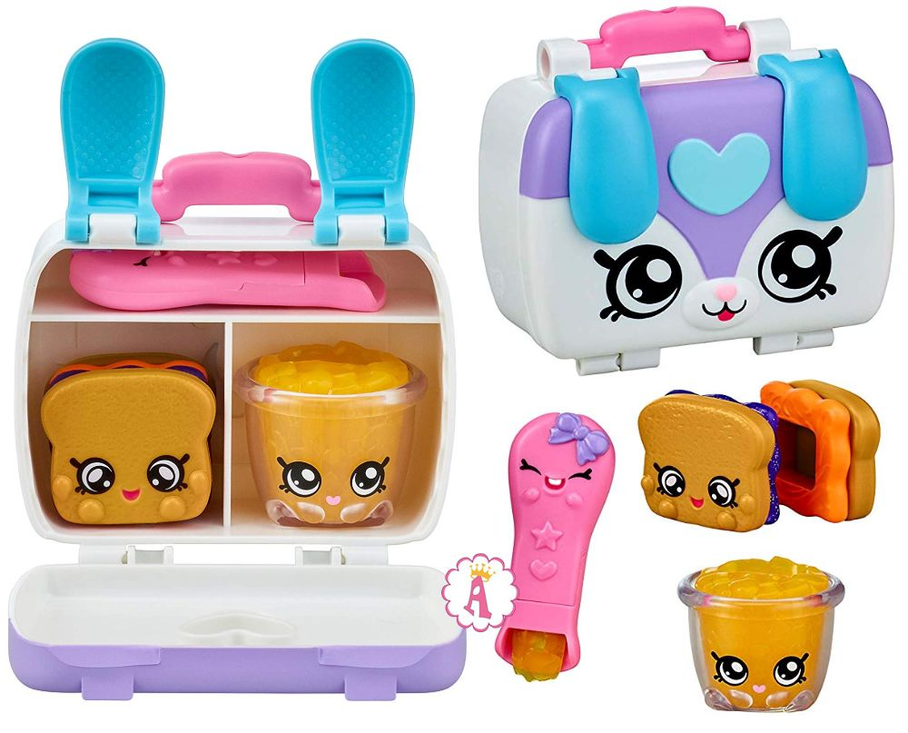 Шопкинс ланч бокс игрушка Kindi Kids Fun Lunch Box 2020