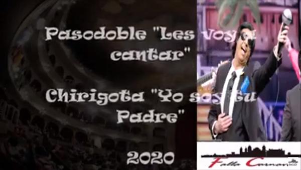 "🎼Pasodoble ""Les voy a contar""🎤Chirigota ""Yo soy tu Padre"" (2020) con Letra✏️"