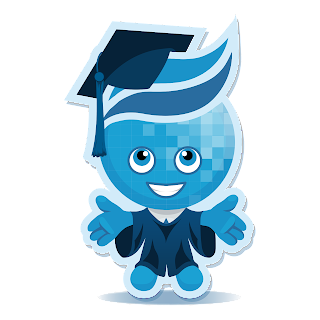Image of Splash mascot wearing cap and gown