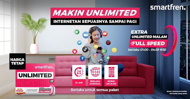 Smartfren Extra Unlimited Malam