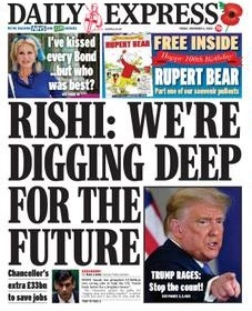 Daily Express Magazine 6 November 2020   Daily Express News   Free PDF Download