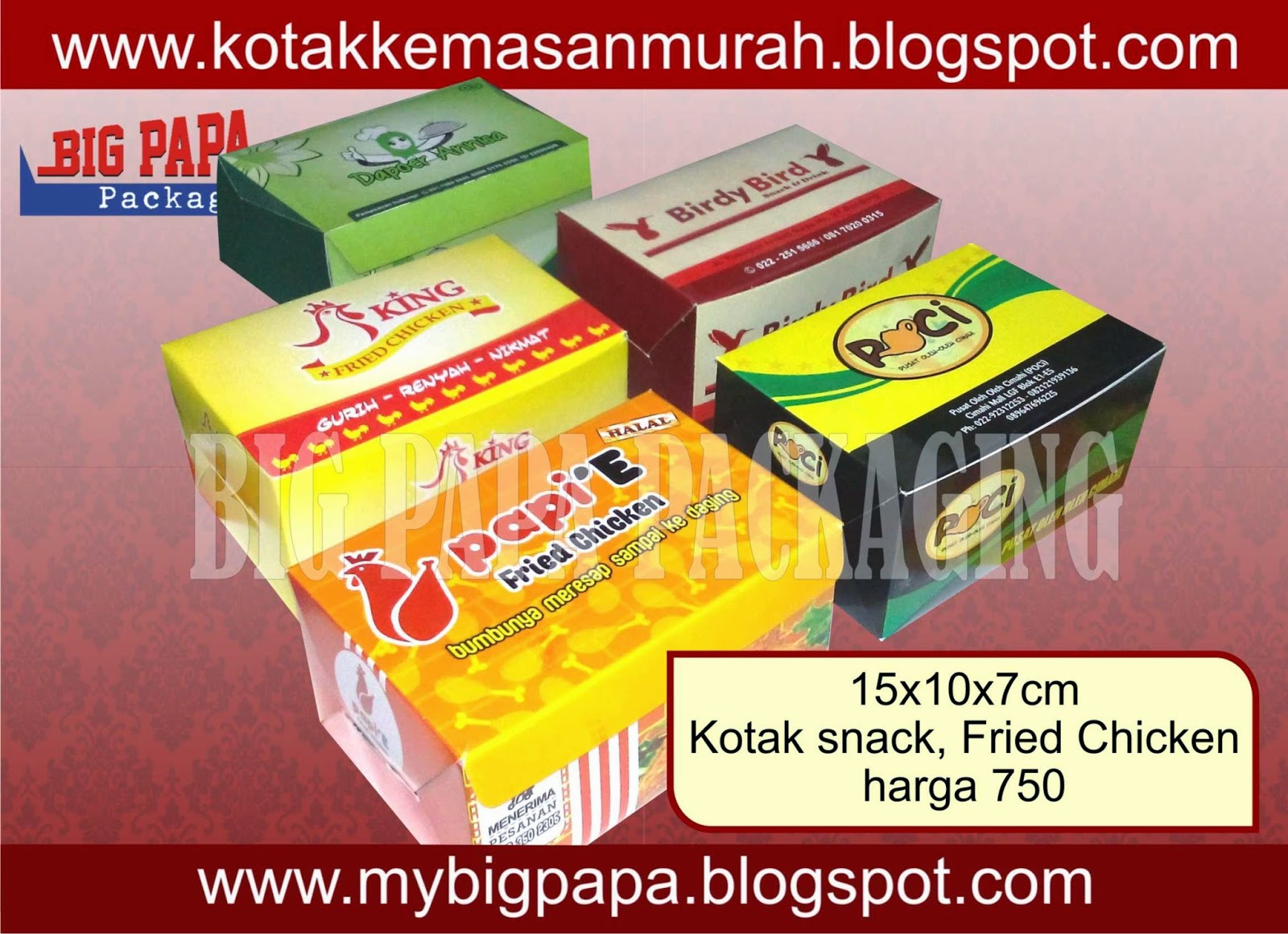 snack box, kotak snack