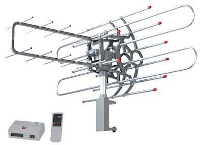 dagıtıcılı karasal anten