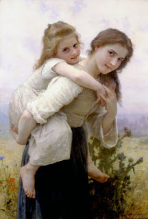 https://commons.wikimedia.org/wiki/File:William-Adolphe_Bouguereau_(1825-1905)_-_Not_Too_Much_To_Carry_(1895).jpg