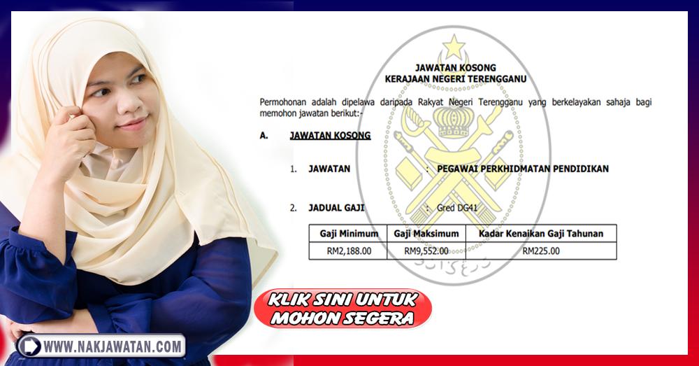 Jawatan Kosong Kerajaan Di Negeri Terengganu 2018