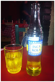 Inca Kola - refrigerante típico do Peru