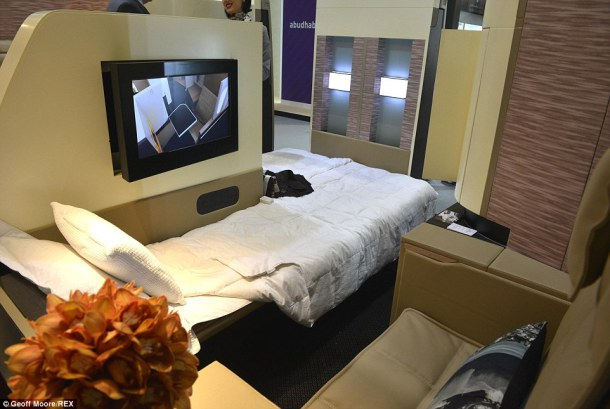 Etihad Airways habitacion