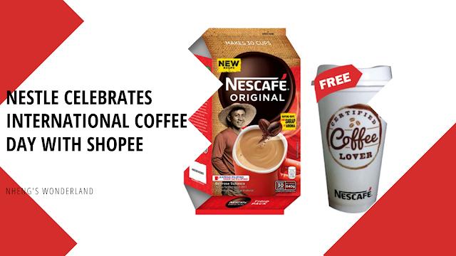 Nestle celebrates International Coffee Day with Shopee