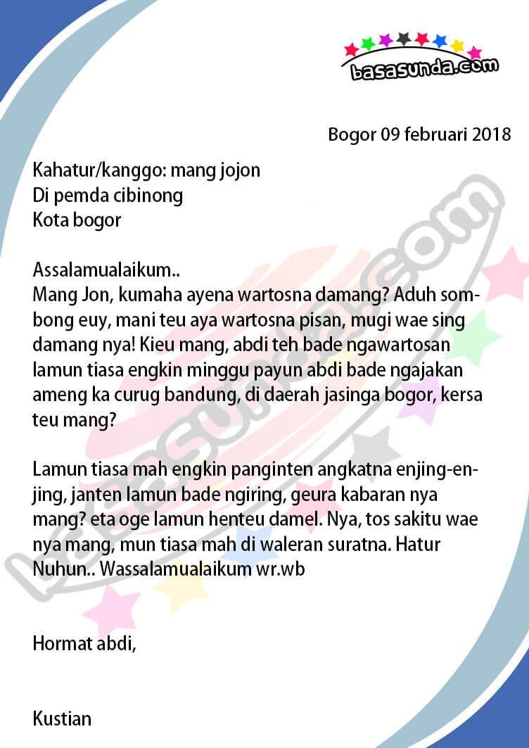 Contoh Surat Pribadi Untuk Kakak : contoh, surat, pribadi, untuk, kakak, Contoh, Surat, Untuk, Sahabat, Bahasa, Indonesia