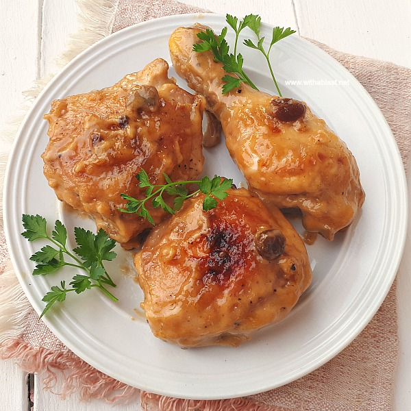 You have to try this no-fuss sticky Chicken for Game Day or dinner !