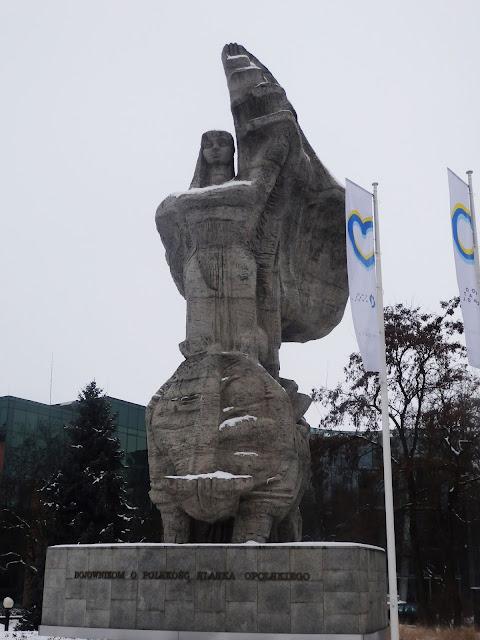 Pomnik powstańców śląskich w Opolu
