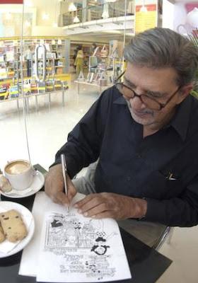 Mengenal Mario Miranda Sang Ilustrator Kartun Handal, Google Doodle Hari Ini