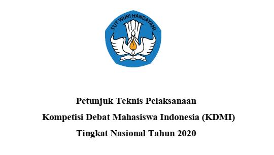 juknis kdmi tingkat nasional tahun 2020 pdf tomatalikuang.com