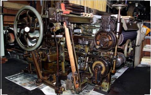 the latest Jacquard machine