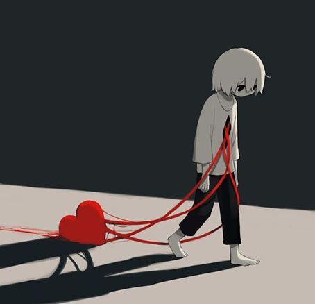 sad love dp