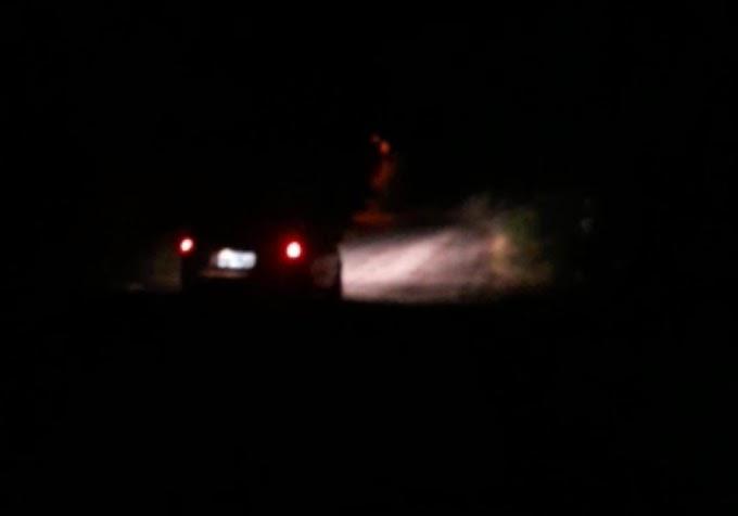 Populares reclamam de escuridão no trecho entre Barra e Pernambuquinho em Grossos