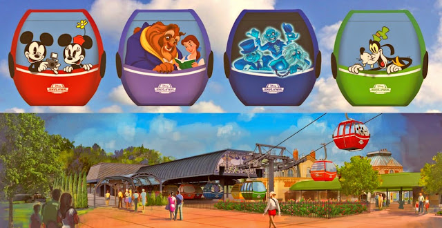 """Disney Skyliner suffering from """"an unexpected downtime"""""""