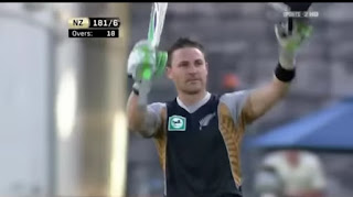 Brendon McCullum 50-Ball Equal Fastest T20I Hundred Highlights