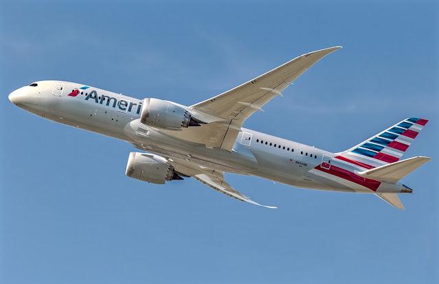 boeing 787-8 american airlines