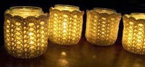 Zussen Zo Patroon Waxinelichtjes Haken
