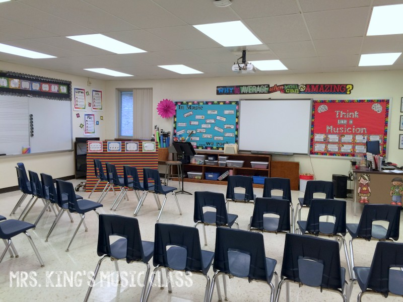 Music Classroom Decor Ideas ~ Mrs king s music class classroom tour