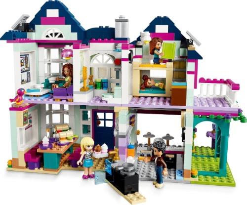 Lego Friends Andrea poppenhuis