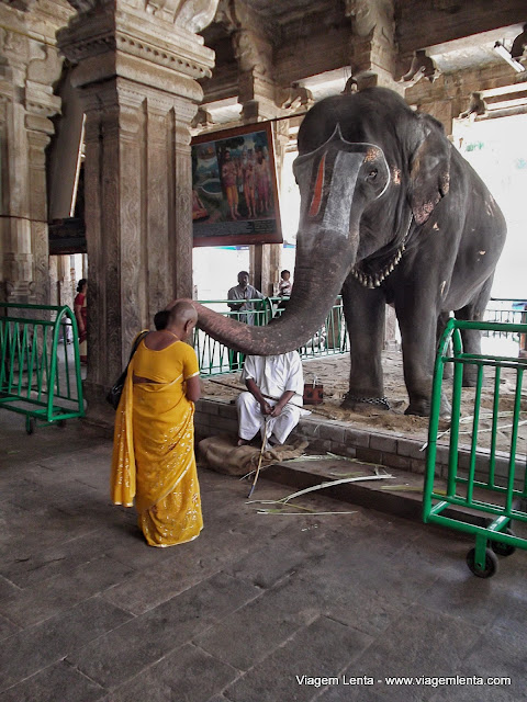 A benção de Vinayaka