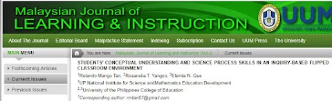 Students' Conceptual Understanding and Science Process Skills in an Inquiry-based Flipped Classroom Environment