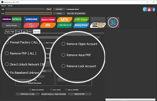 Download Mysterious-Box V5.0 | Remove Mi Account | FRP INFINIX