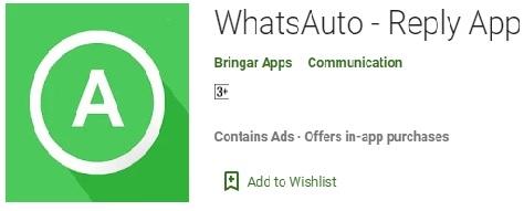 whatsapp auto reply, app, whatsapp