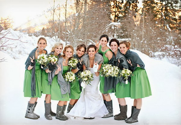 Winter Wedding Bridesmaid Dresses