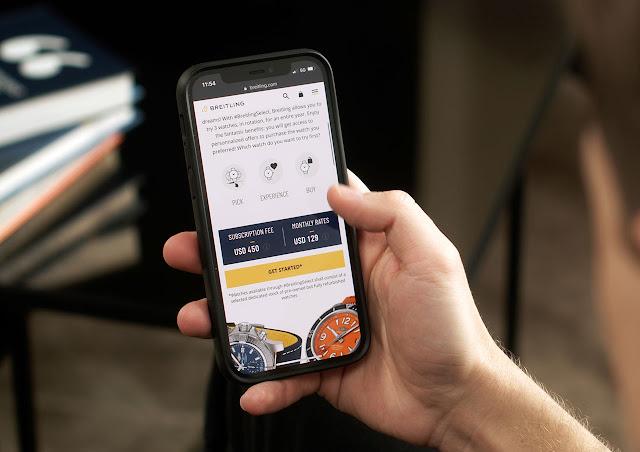 #BreitlingSelect subscription program