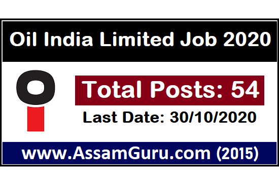 Oil India Limited Job