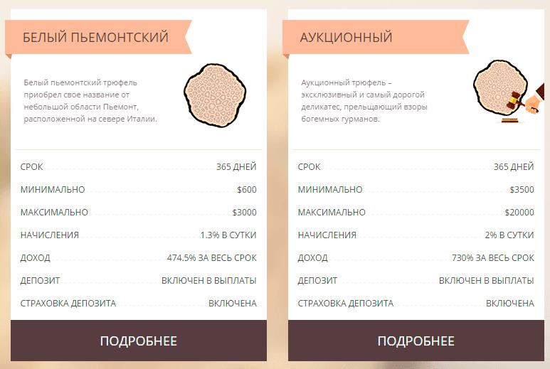 Инвестиционные планы Agroif Mushroom