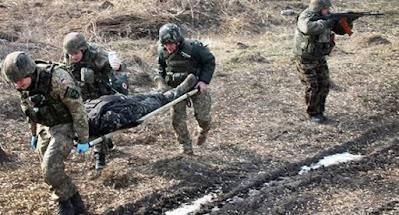 На Донбасі українська армія знову зазнала важких втрат