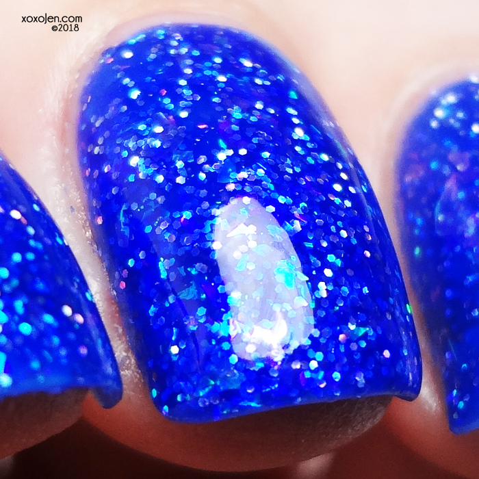 xoxoJen's swatch of KBshimmer Gaia