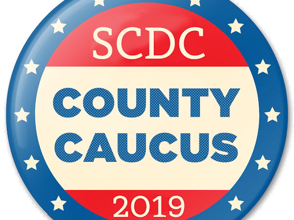 Save The Date! SCDC Caucus Sat, April 27th  11:30am Dover Library