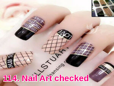 Nail Art checked