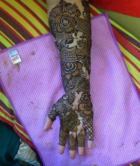 Bridal Mehandi Design 1