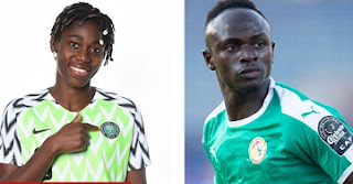 Sadi Mane, Asista Oshoala named African Footballers of the year in 2019 CAF Awards.