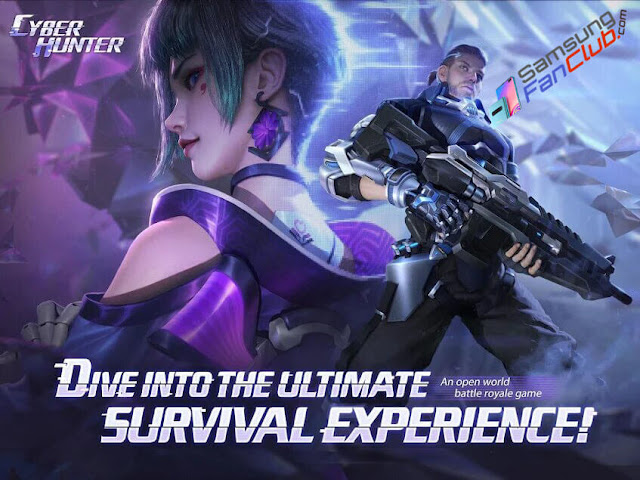 Cyber Hunter PUBG Alternative Game for Android Samsung Galaxy S10 Plus