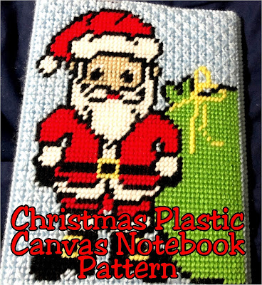 Get started NOW with your Christmas planning with this super cute and easy Christmas planner notebook cover.  Made using simple stitches from plastic canvas it's perfect for the beginner and the advanced crafter and will make you WANT to get organized so you can relax this Christmas.