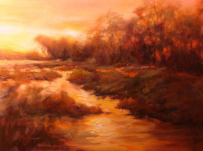 Scott Mattlin. Импрессионизм и абстракция 15
