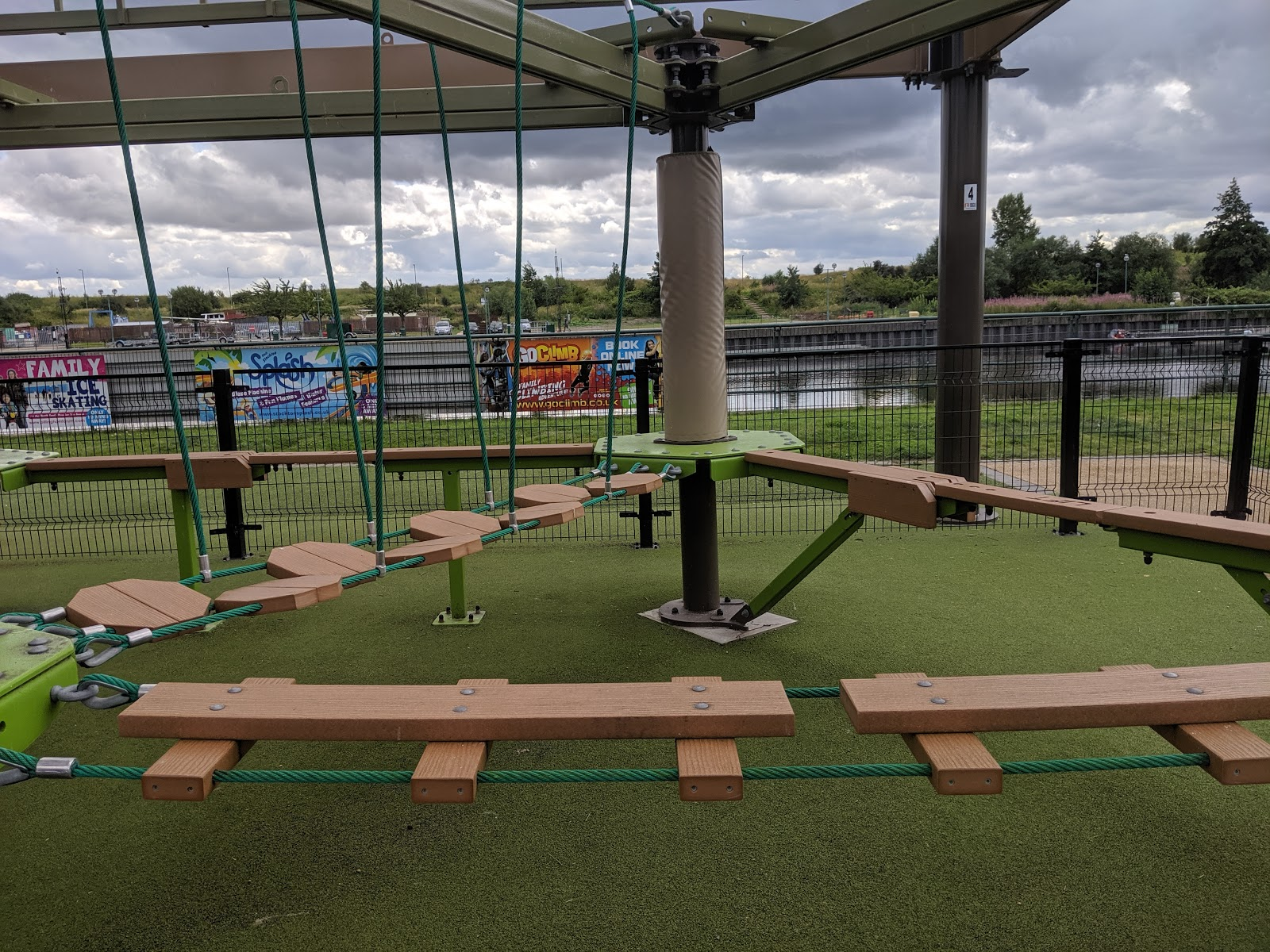 Air Trail Tees Barrage Review  - Air tykes course