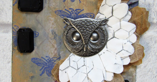 Owl tag for The Artistic Stamper