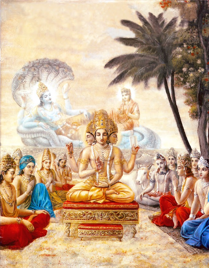 Brahma Purana - Appearance of Brahma