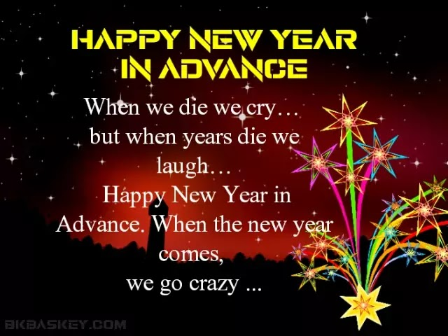 New Year Sayings in Advance | Happy New Year Status in Hindi