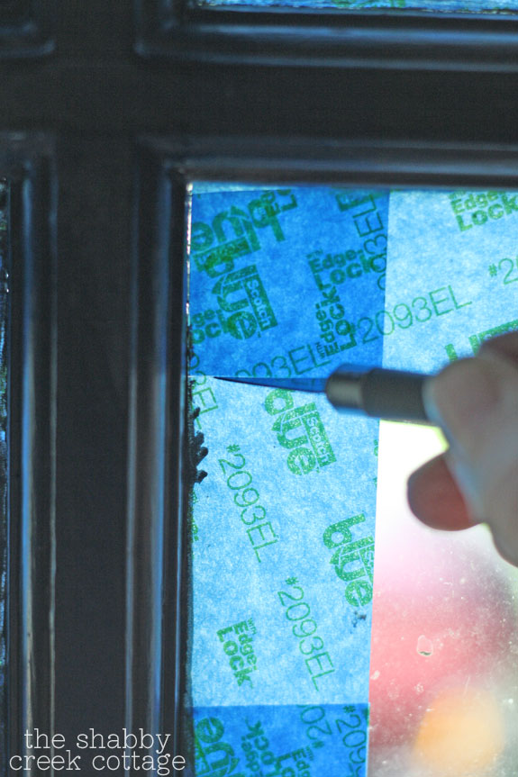Tips For Taping Window Panes