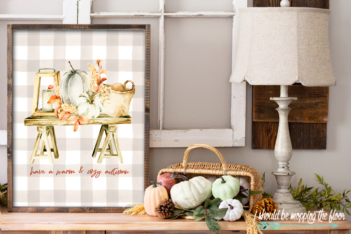 Cozy Autumn Entryway Decor